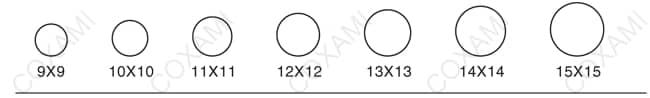 Khuôn tem tròn của đơn vị sản xuất Tem chống giả Công Xảo Minh 4