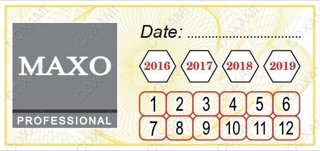 tem bảo hành