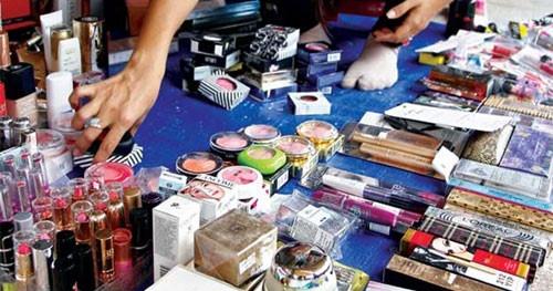 poor quality counterfeit cosmetics